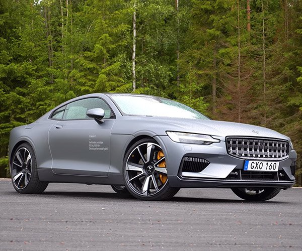 Driving the Polestar 1
