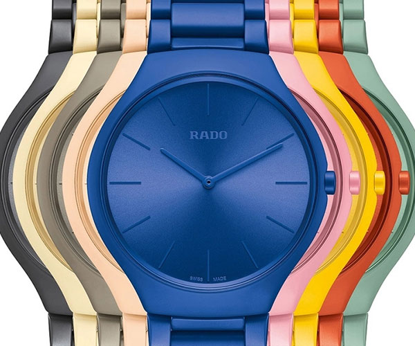 Rado True Thinline Les Couleurs