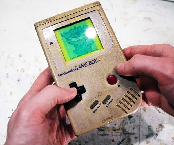 Restoring a Game Boy