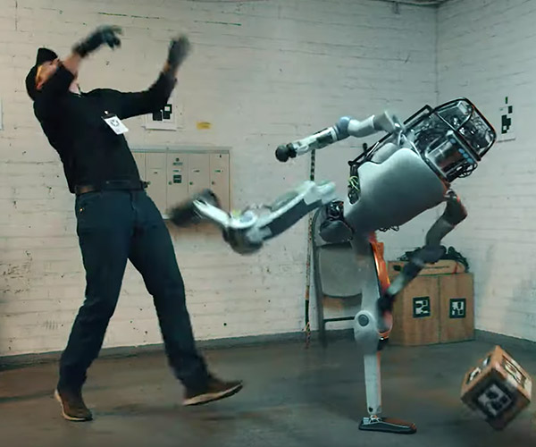 Atlas Robot Fights Back