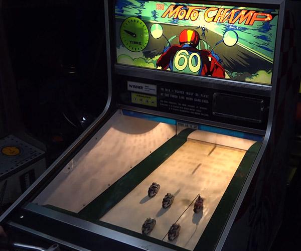 Analog Arcade Machine