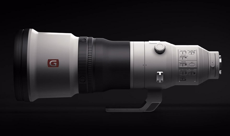 Sony FE 600mm GM Lens