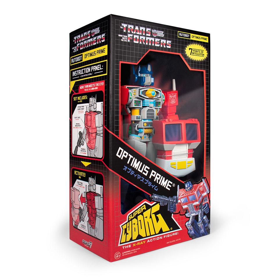 Transformers G1 Super Cyborg Figures