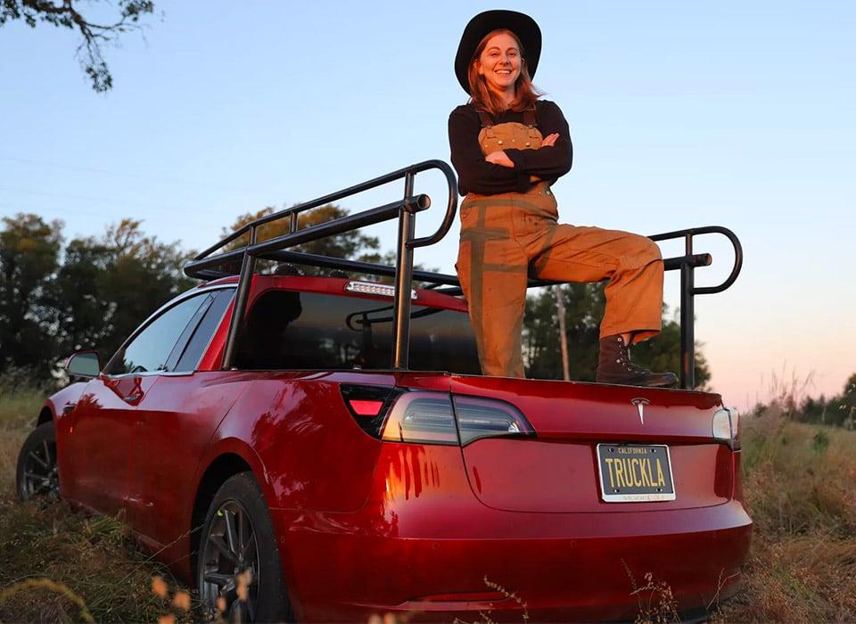 Tesla Model 3 Pickup Truck