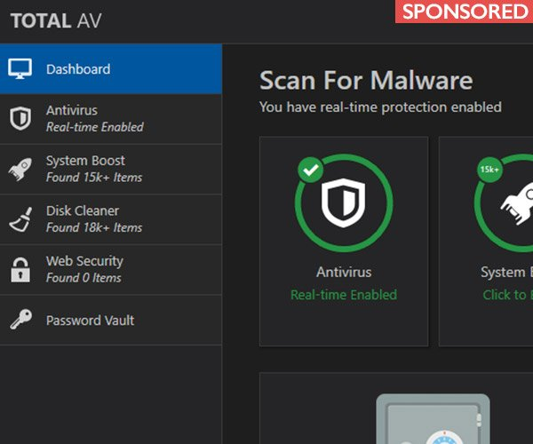 Deal: TotalAV Anti-Virus Protection