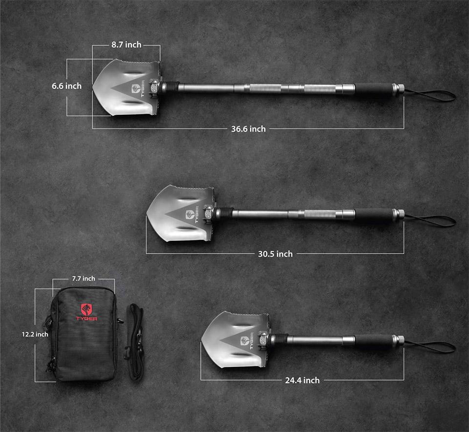 Tyger Survival Shovel