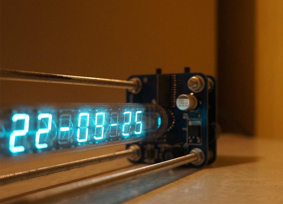 IV-18 VFD Tube Clock