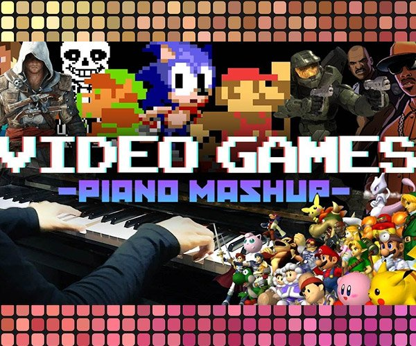 Video Game Piano Medley