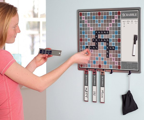 Magnetic Wall Scrabble