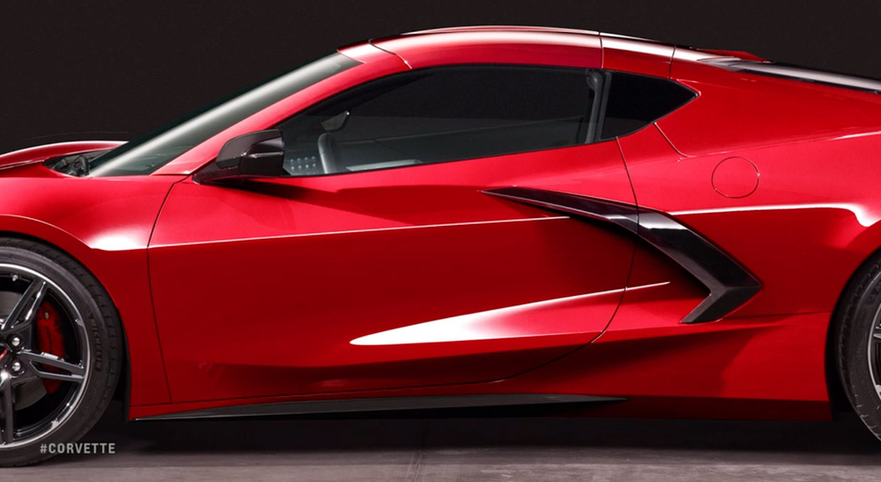 The Mid Engined 2020 Corvette Stingray Gets Official