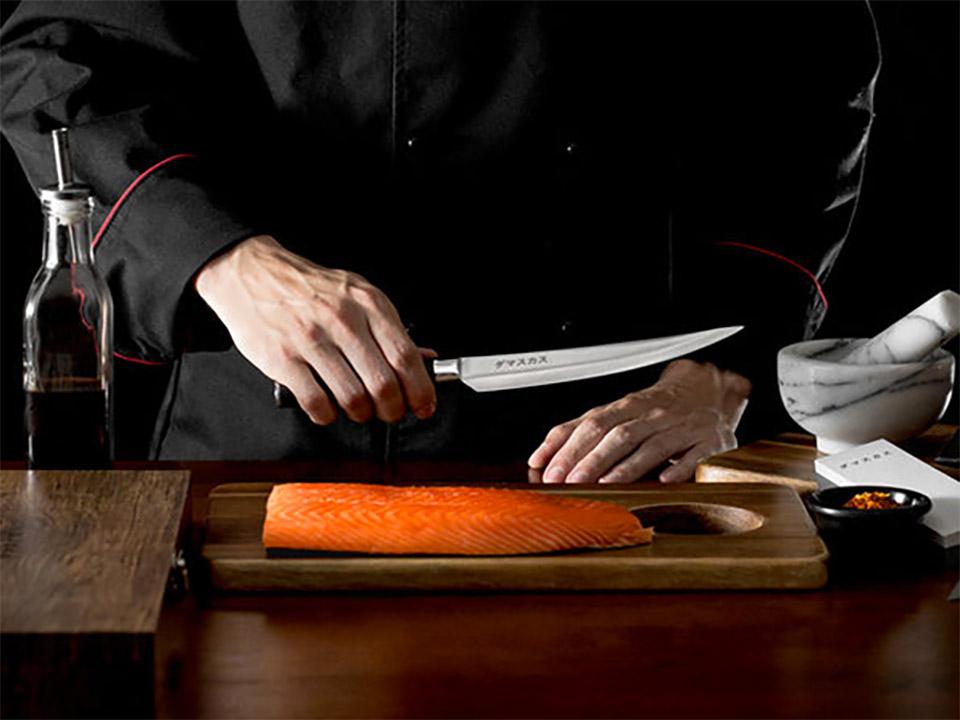 Damasukasu Akuma Chef Blade Set