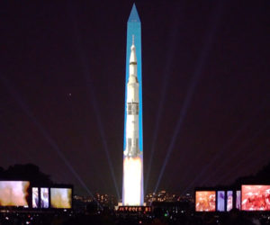 Apollo Launch Projection Mapping