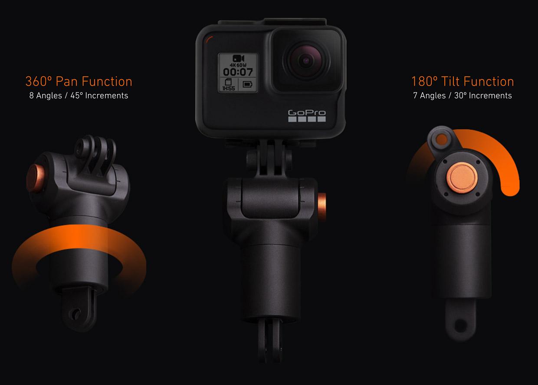 Boondoo Action Camera Mount