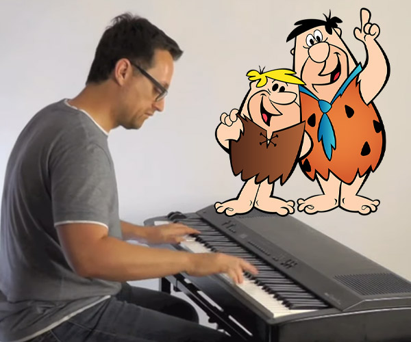 Cartoon Piano Medley