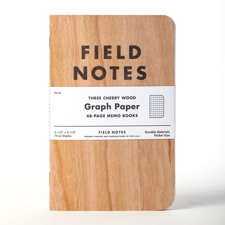 Cherry Wood Field Notes