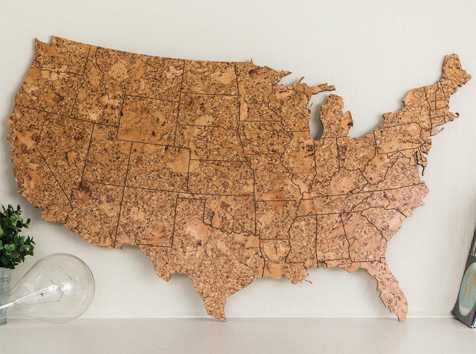U.S. Cork Maps