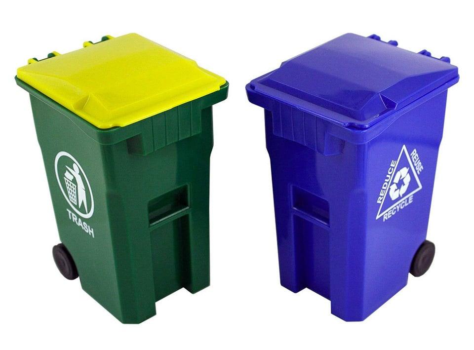Desktop Trash Cans
