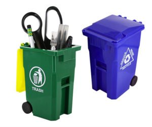Desktop Trash Cans