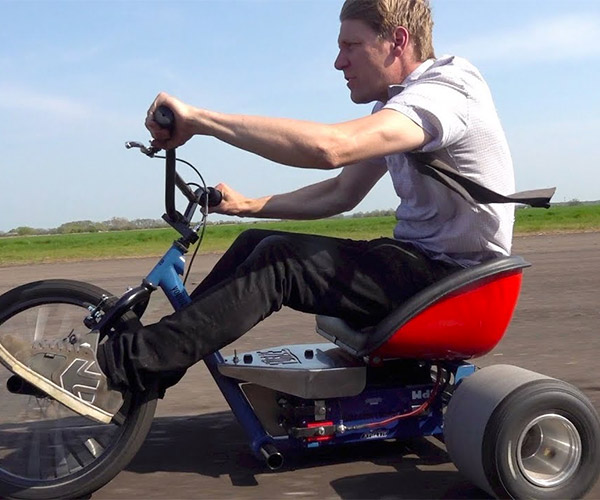 20,000 Watt Electric Drift Trike