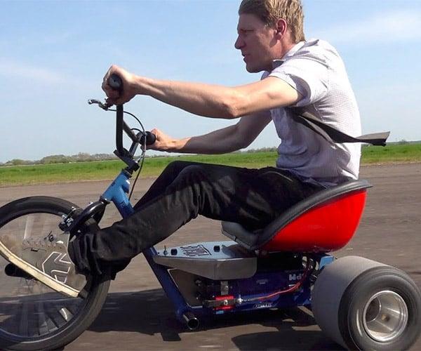 20,000 Watt Electric Drift Trike