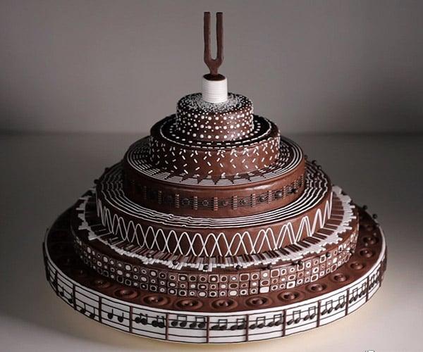 Musical Cake Zoetrope