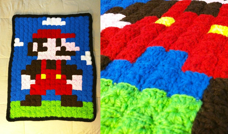 Grandma 8-Bit Blankets
