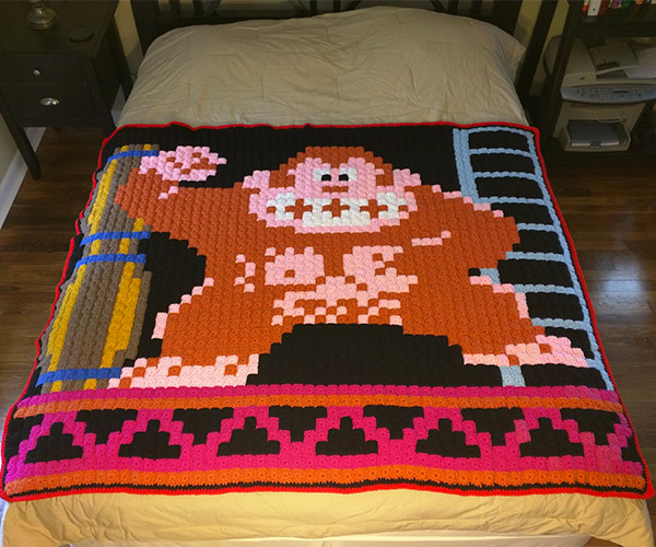 Grandma 8-Bit Blankets