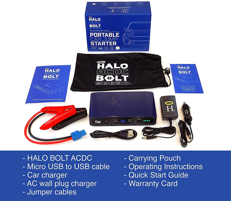 HALO Bolt Charger