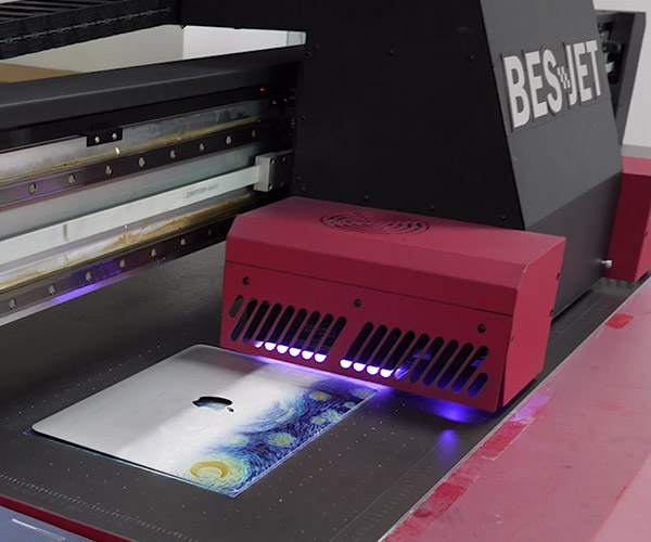 Inside a UV Printer Factory