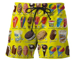 Trucked Ice Cream Swim Shorts