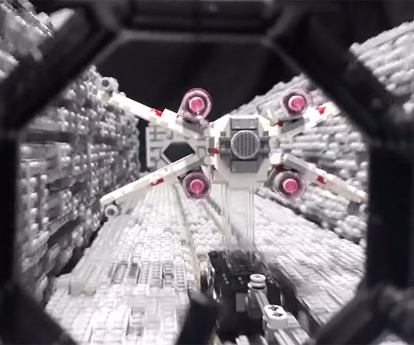 LEGO Death Star Trench Diorama