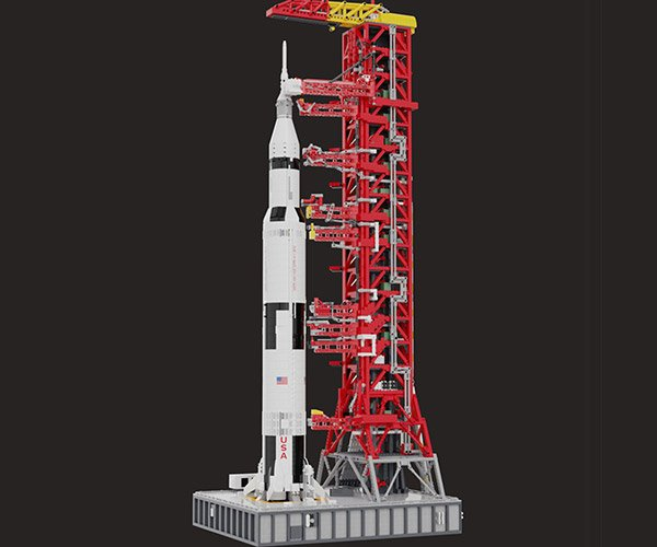 LEGO Saturn V Launch Tower