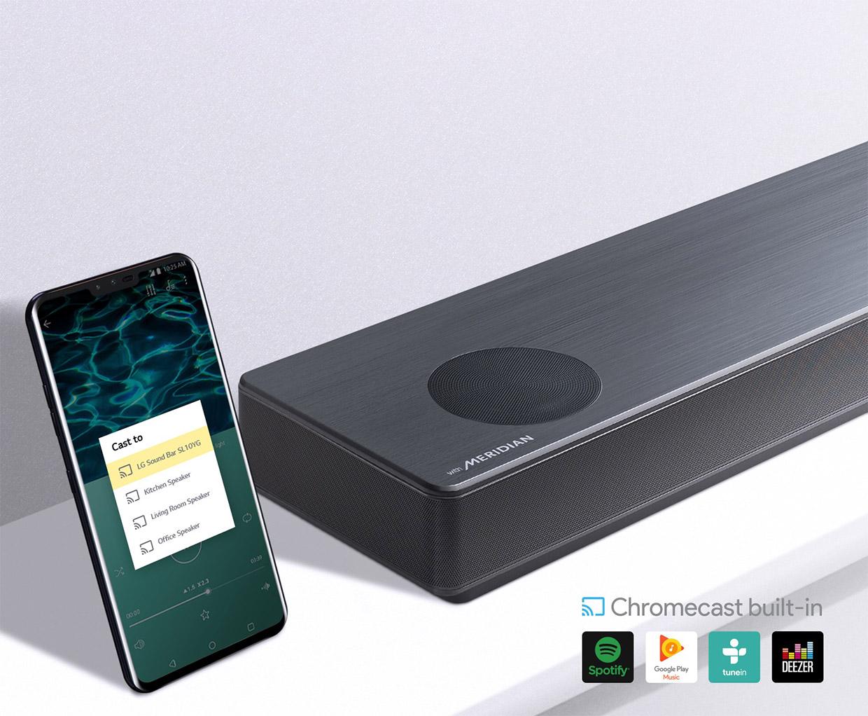 LG SL10YG Soundbar