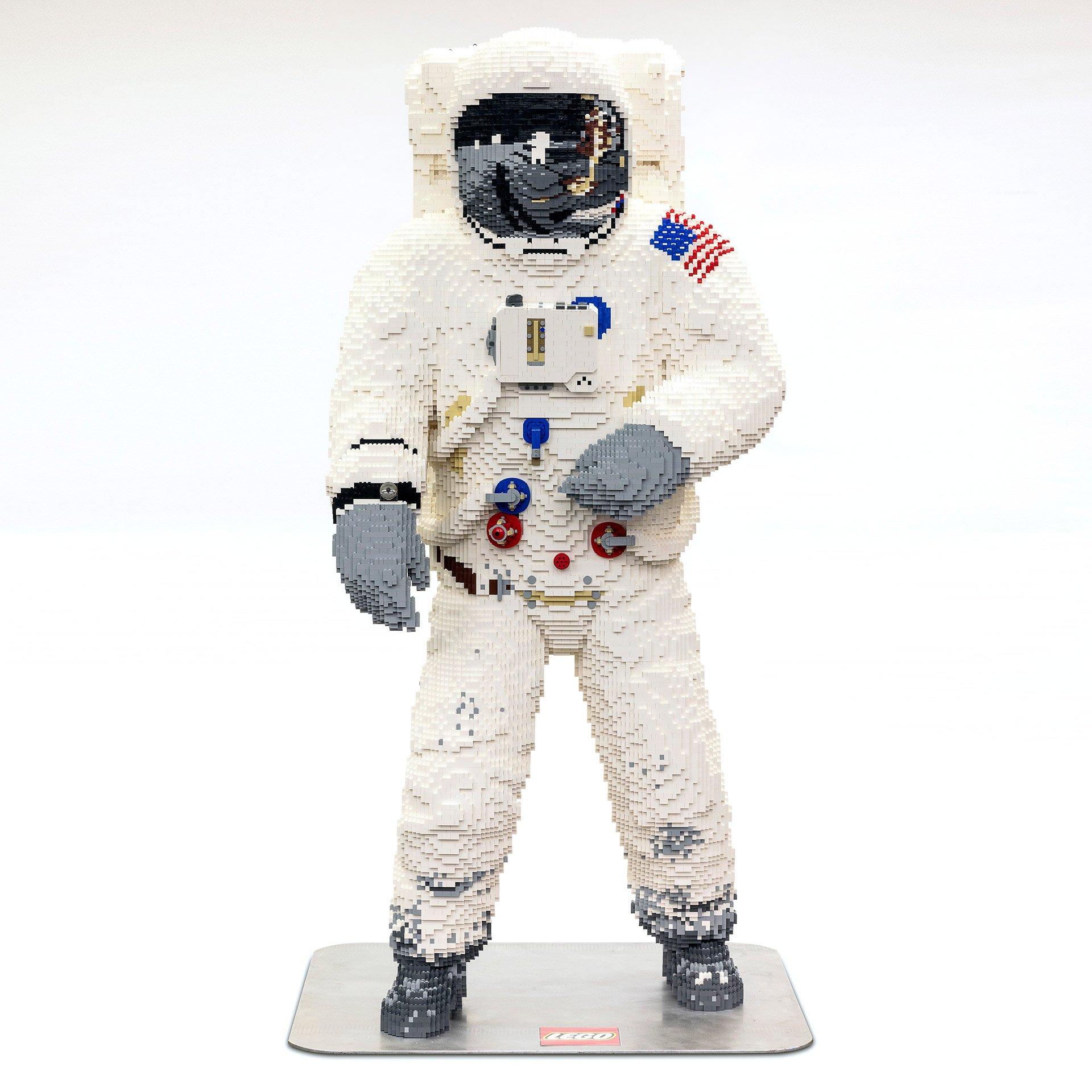 Life-Size LEGO Astronaut