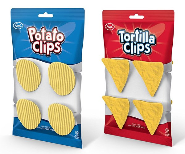 Potato Clips and Tortilla Clips