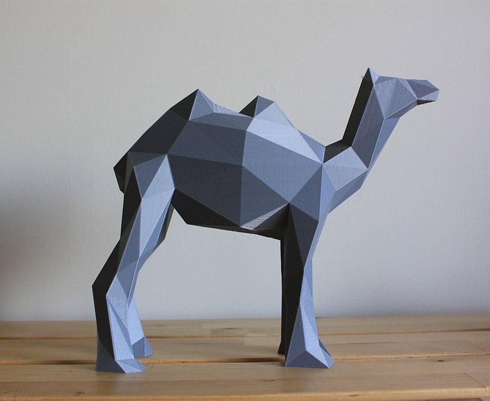 Low Poly 3D Sculptures