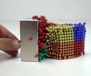 Magnetic Balls vs Monster Magnets