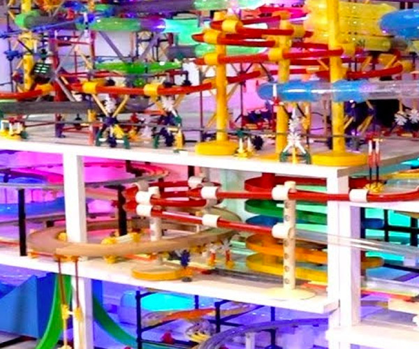 Marble Run Amusement Park