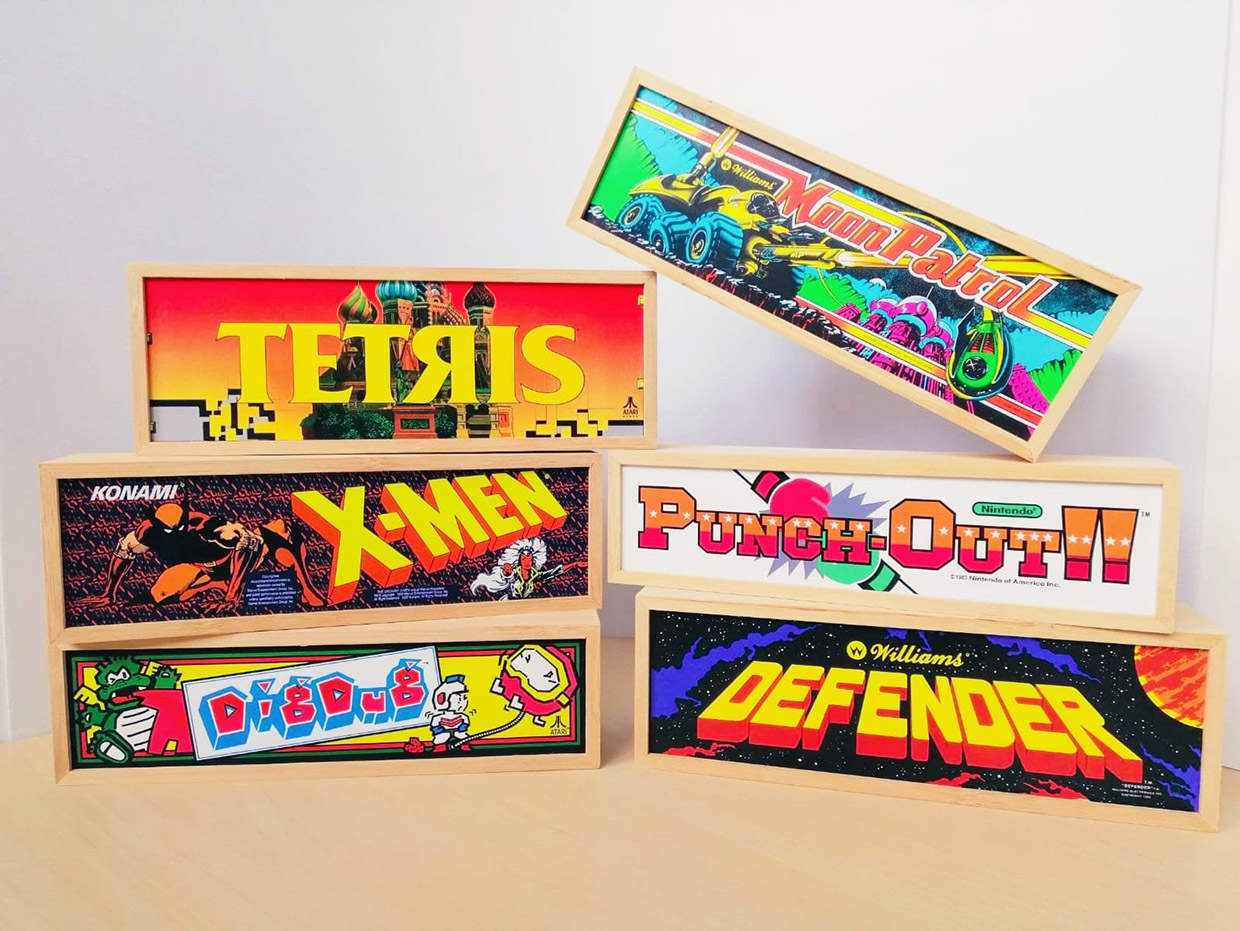 Put an Arcade on Your Desktop with These Mini Marquees