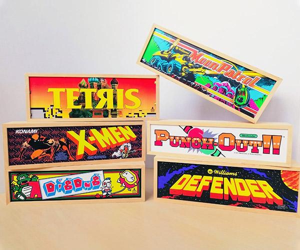 Mini Arcade Marquees