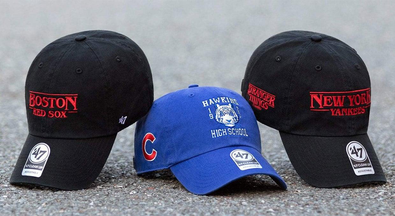 Stranger Things MLB Caps