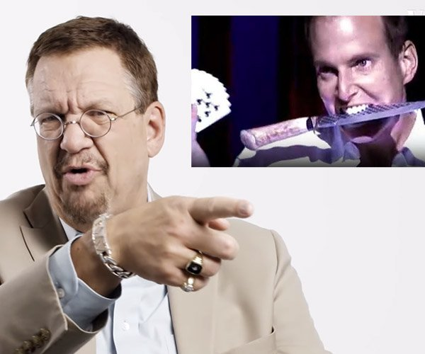 Penn Jillette Reviews Magic Tricks