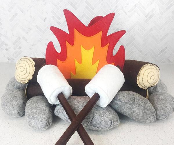 Plush Campfire