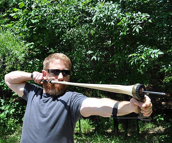 Pro Arrow Pouch Slingshot