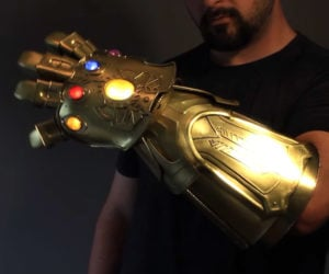 Making a Real Metal Infinity Gauntlet