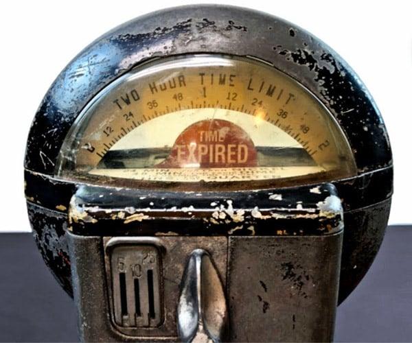 Restoring a Parking Meter