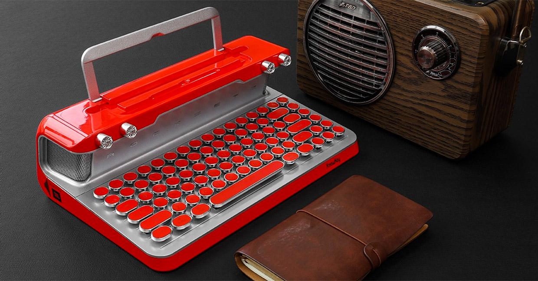 Rocksete Retro Keyboard