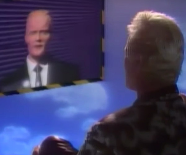 Max Headroom Meets Rutger Hauer