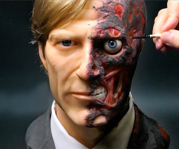 Sculpting Two-Face