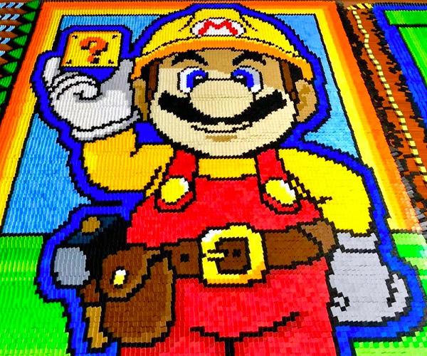 Super Mario Maker Dominoes